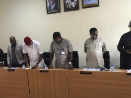 Members of Delta State House of Assembly Public Accounts Committee