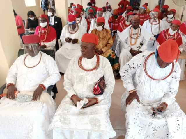Meeting of the Council-in-Chiefs from Onyobru, Boboroku and Jesse central in respect to Idjerhe Kingship Tussle