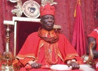 His Royal Majesty, Orhue 1, the Orodje of Okpe Kingdom