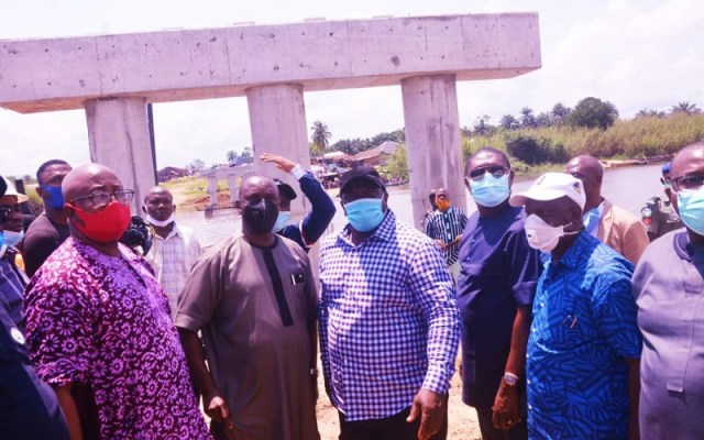 Ndokwa Political Office Holders On an Inspection Tour of Projects in Ndokwa Land