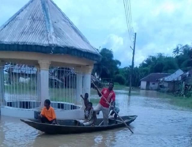 Flood at Seimbiri kingdom