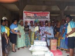 Azuka and Ify Foundation Christmas Donation