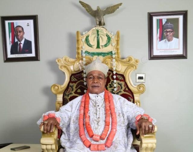 King Charles Ayemi-Botu (JP) OFR, Paramount Ruler of Seimbiri Kingdom in Burutu local government area of Delta State.