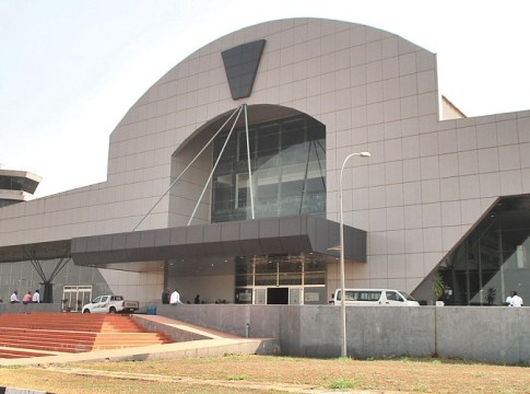 Front Entrance View of Asaba International Airport