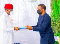 Signing Ceremony Of The Concession Agreement For Asaba International Airport With FDIC/MENZIES Consortium On Tuesday, February 23, 2021, at the Asaba International Airport.