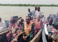 Travelers on Delta Waters in Okwuama