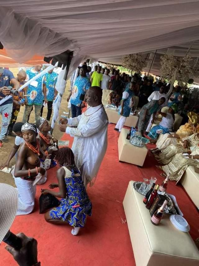 John Oguma Captured Spraying Money on Naked Girls at a Public Function in 2020