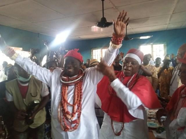 Prince Bernard Ivumevmerhaye Awarieta Crowned King of Ewu-Urhobo Kingdom