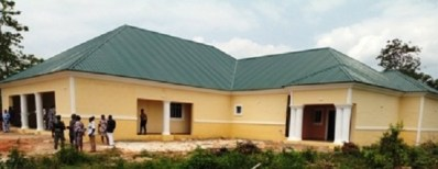 Center Built by Elumelu As Part of his Constituency Projects in Aniocha South