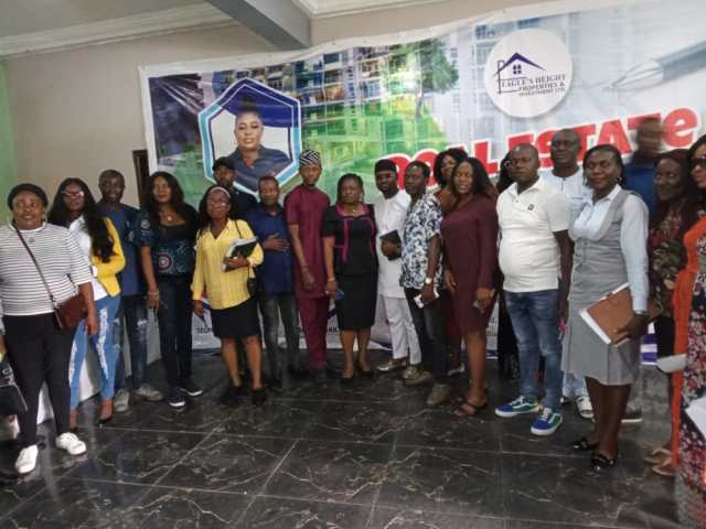 Group Photograph of Participants at a Real Estate Business Workshop organized by Eagle's Height Properties Asaba