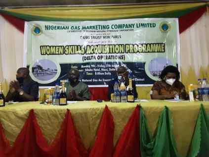 Women Empowerment By Nigerian Gas Company