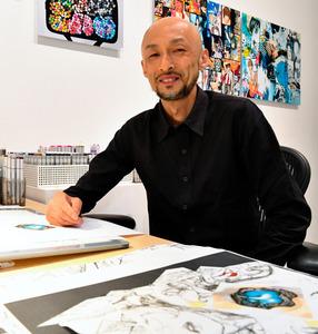 【漫画】「デスノート」小畑健、初の顔出し 画業30周年を語る