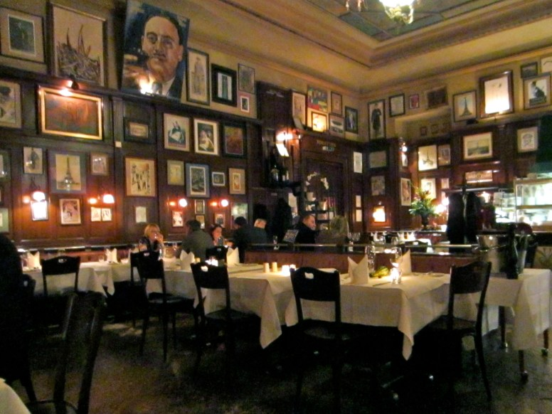 The dining room at Käfers