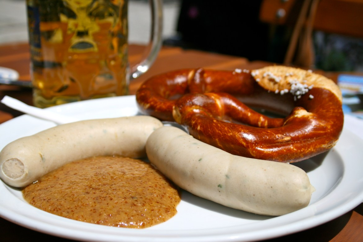 The Ultimate Guide to German Sausages #2: Weisswurst
