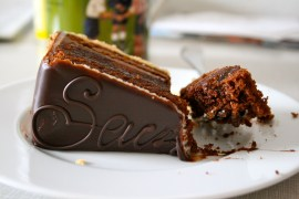 Slice of Sachertorte