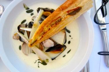 Seafood velouté