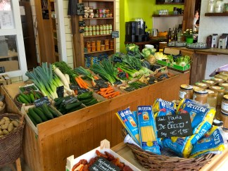 Vegetable shop in Frankfurt