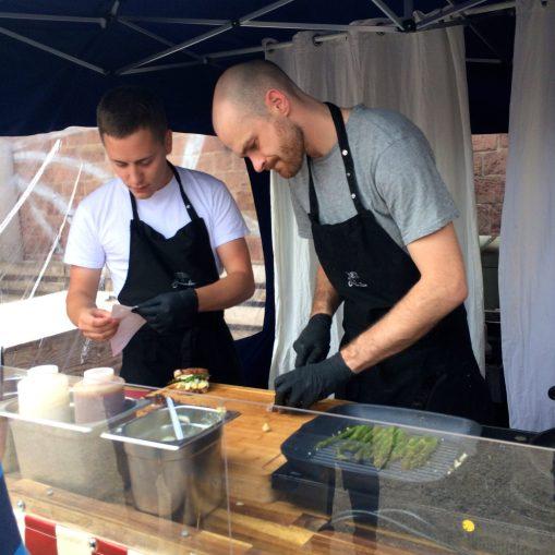 Jäger & Sammler street food stand at the Mainz Street Food Festival