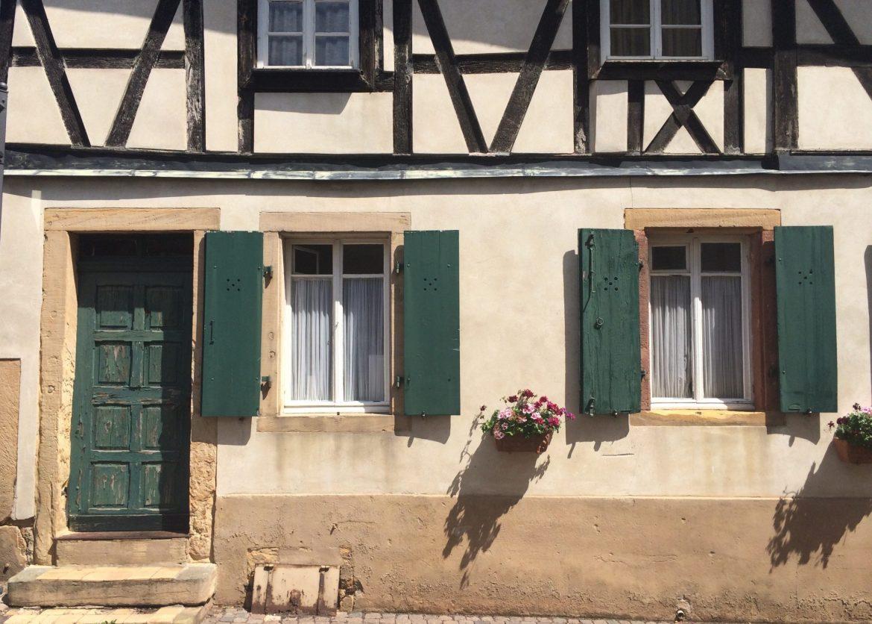 Half-timber house in Deidesheim