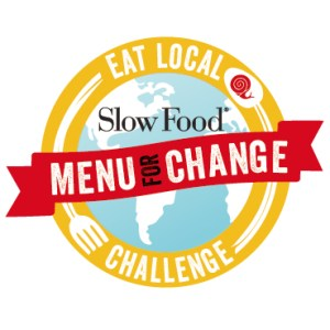 Logo for the Slow Food Menu for Change campaign