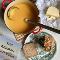 German pumpkin soup | Kürbissuppe (recipe)