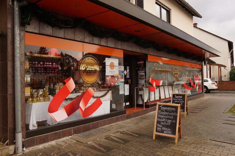 The front of Metzgerei Hardt in Limburgerhof