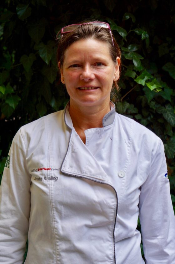 Annette Kreiling in chef's whites