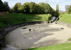 The arena of the amphitheatre in Trier
