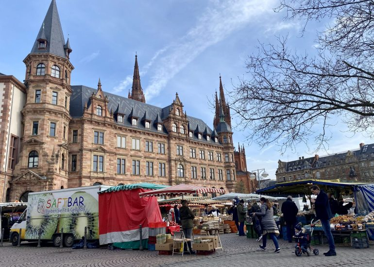 Wiesbaden Farmers Market March 14