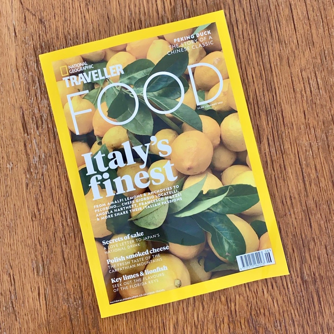 National Geographic Traveller Food Summer 2021 issue