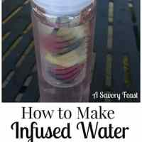 How to Make Fruit Infused Water