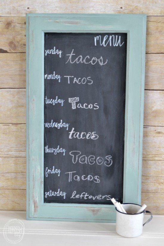 diy-menu-board