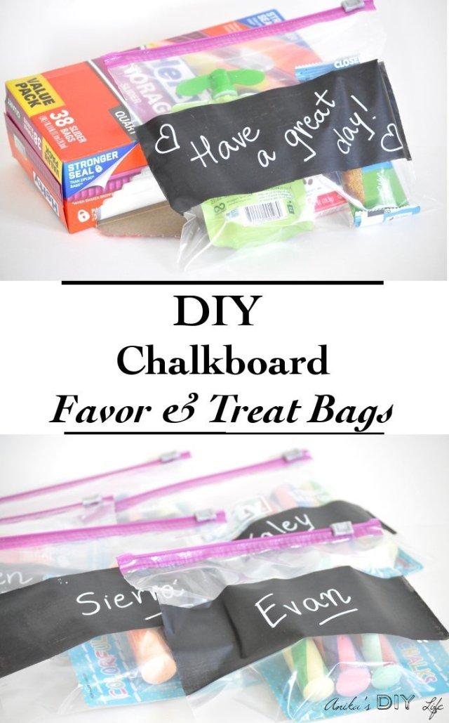 chalkboard-treat-bags-with-hefty-slider-bags-pinterest