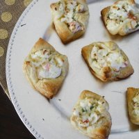 Crab Puff Pastry Bites