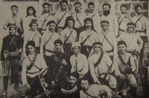 """""""Early members of 'HaShomer' at the beginning of the 20th Century"""""""