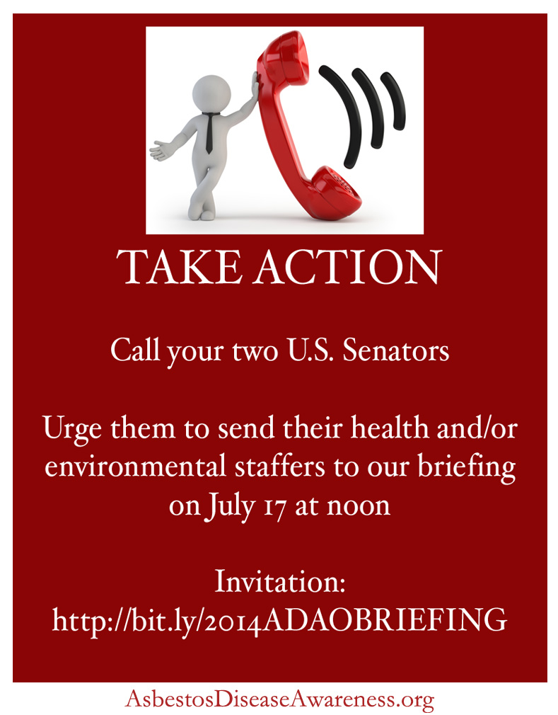 Urge Your Two U S Senators To Send Staffers To The Adao Briefing On July