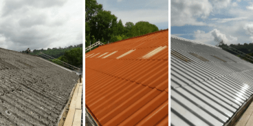 8 Easy Ways to Repair or Refurbish Your Asbestos Roof 8 Easy Ways to Repair or Refurbish Your Asbestos Roof asbestos roof repair 1