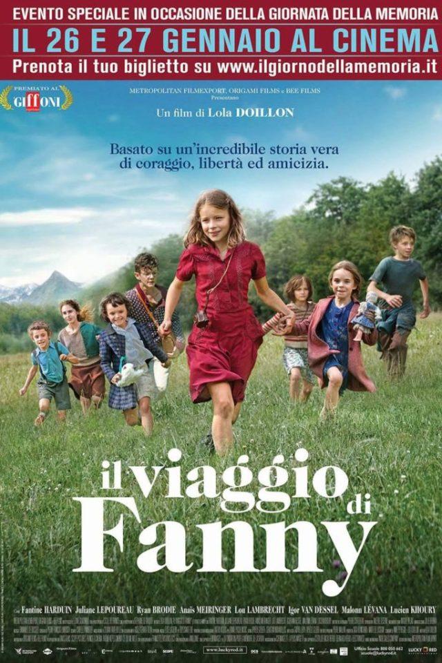 Il viaggio di Fanny poster locandina