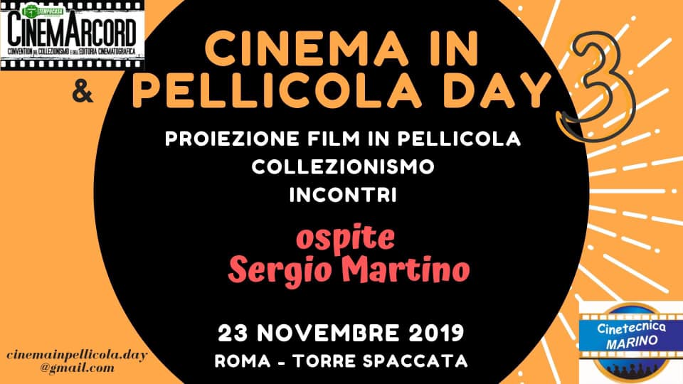 CINEMA IN PELLICOLA DAY: TORNA A ROMA LA GIORNATA DELL'ANALOGICO