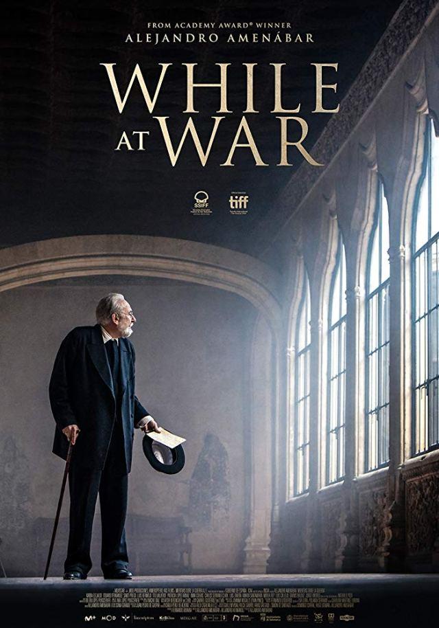 Mientras dure la guerra poster locandina