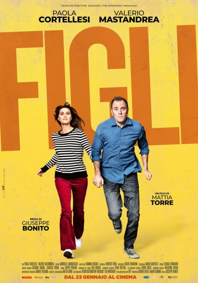 Figli (2020) poster locandina