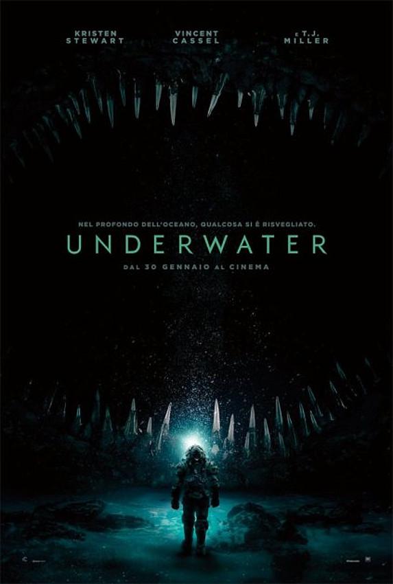 Underwater poster locandina
