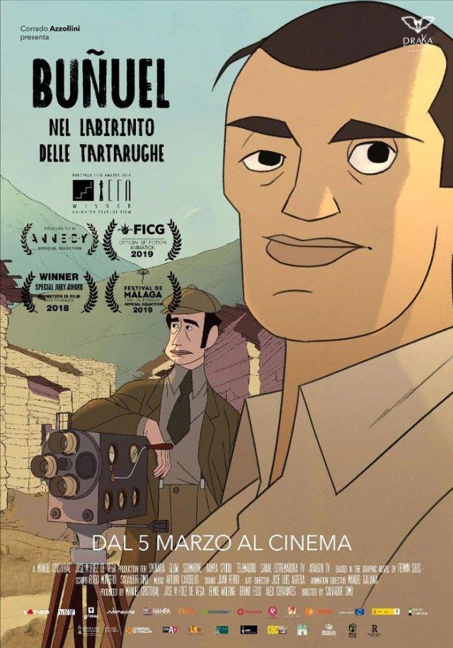 Buñuel - Nel labirinto delle tartarughe poster locandina