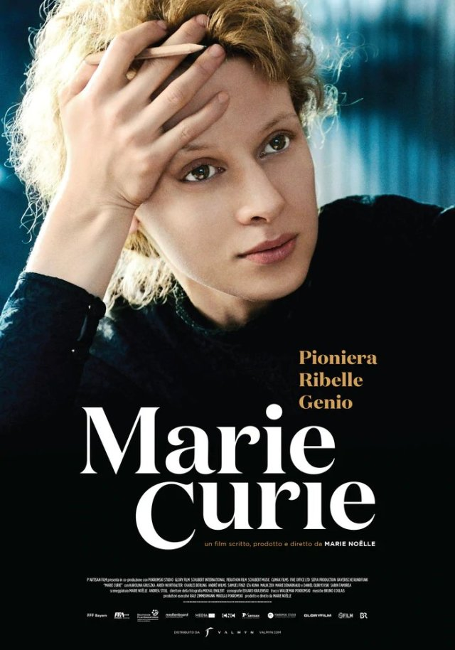Marie Curie poster locandina