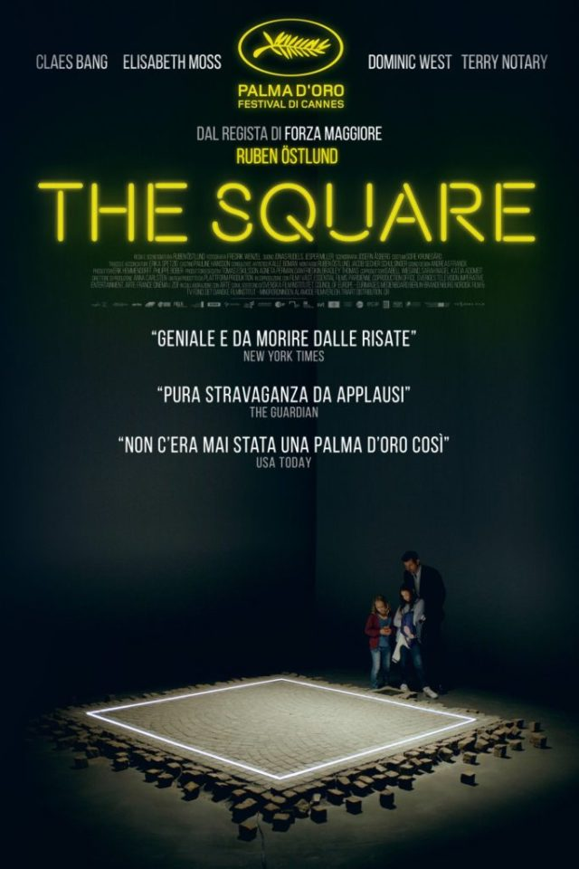 The Square poster locandina