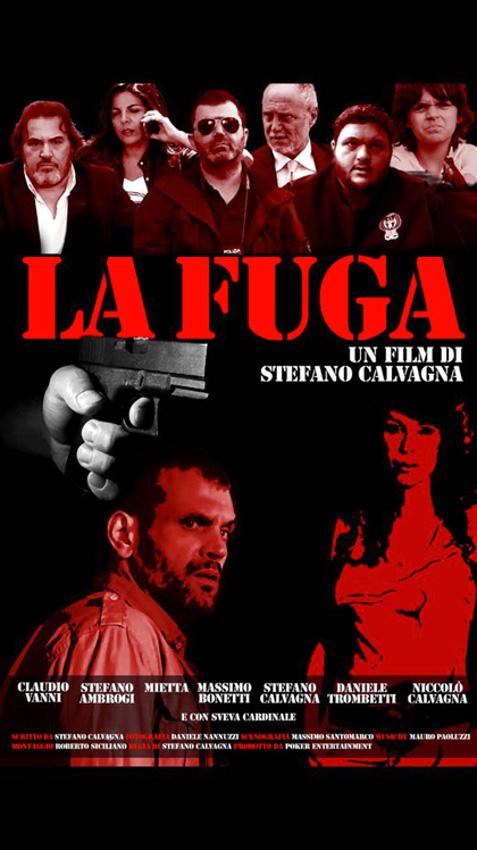 La fuga (2016) poster locandina