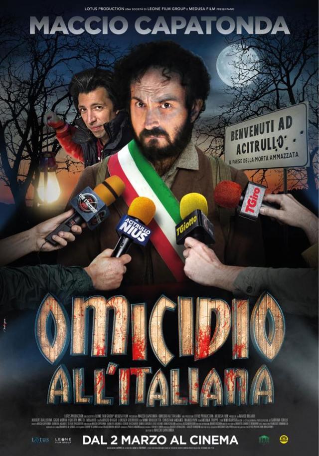 Omicidio all'italiana poster locandina