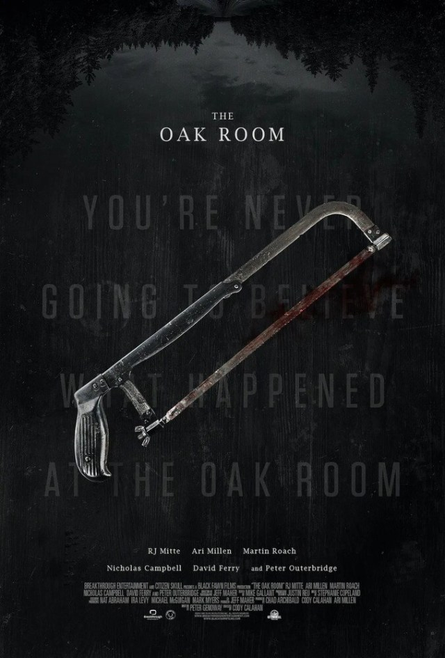 The Oak Room poster locandina