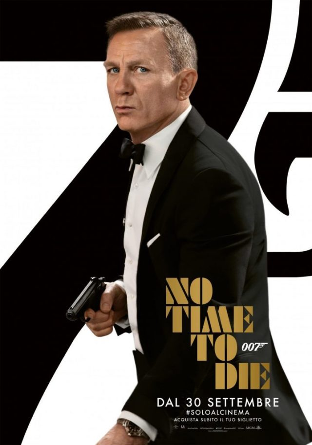 no time to die poster locandina