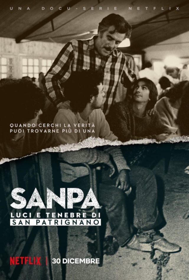 SanPa: luci e tenebre di San Patrignano poster locandina